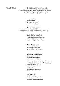 Programma musicale 2